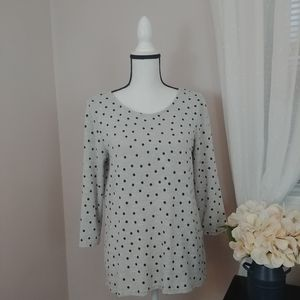 Market & Spruce Stitch Fix Polka Dot Shirt
